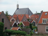 Church and houses