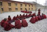Samye Monastery, debating courtyard