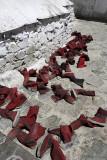 Tashilhunpo Monastery, monk shoes