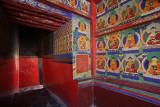 Mural at Tashilhunpo Monastery