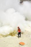Cutting the rock sulphur