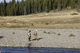 Fisherman at Snake River