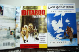 THE BOOKSTORES AND NEWS STANDS OF ALASKA ARE FILLED WITH IDITAROD INFORMATION