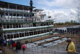 ALL ABOARD THE DISCOVERY II FOR A TRIP DOWN THE CHENA RIVER