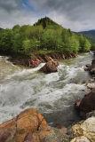 Kishi1 rapid on Belaya river