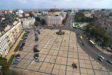 Sofiyski square. Kiev