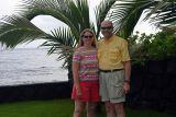 Angela and Dale at Ka Hale Ma Kahakai (House by the Sea)