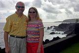 Dale and Angela at Ka Hale Ma Kahakai (House by the Sea)