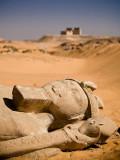 Rameses II statue at Wadi al Sebua