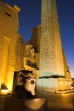 Luxor Temple, north entrance