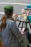 Chinatown street artist
