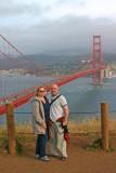 Erica & Stephen at the Marin Headlands