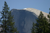 Half Dome still with a snow cap