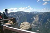 Glacier Point overlook of Yosemite Falls