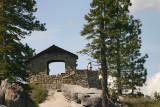 Geology exhibit hut overlook