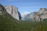 Yosemite Valley from the Tunnel View overlook
