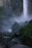 The bottom of Bridalveil Falls