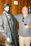 Stephen with one of the founders