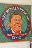 Reagan portrait in jelly beans