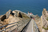 Point Reyes Lighthouse only 308 steps down