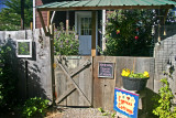 Entrance to our Cypress Cottage