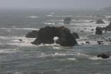 Pacific coastline near Jenner, Ca.