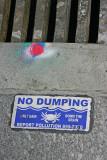 Sewer drain warning