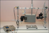 experimental laser setup