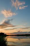 Sky Over Wisla River