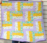 Baby Quilt Rail Fence