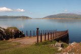 Craignish Pier with Corryvreckan in the distance