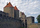 Remparts de la Cité - Le pont-levis