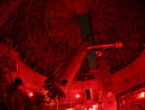 Observing on Lowell Observatory Clark 24 Refractor -- March 7, 2008