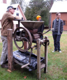 Apple Fest Cider Making