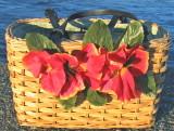 pansies wicker