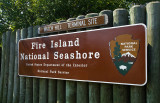 Fire Island National Seashore Sign