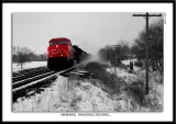 Warning!   Railroad Crossing...