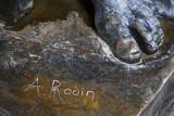 Signature de l'artiste