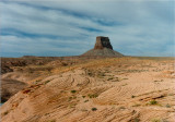 Tower Butte seen from Labyrinth Canyon