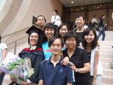 Graduation ceremony of Wendy 14-6-2008