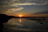 Sunset on Missouri River near Vermillion, SD  July 15, 2008