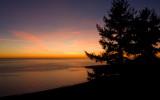 Sunset over Bolinas Bay