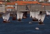 A corrida dos barcos rabelo