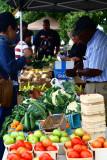 University Farmers Market Veggies