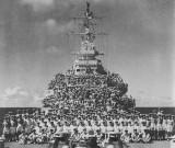 HMCS Uganda 8 August 1945