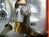 0735 Oil manifold in place