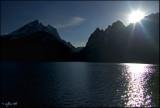 Grand Teton silhouette