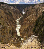 Little Grand Canyon of Yellowstone