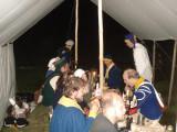 Lägerlevene i marketenterans tält
