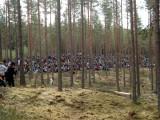 5000 personer som publik i furuskogen